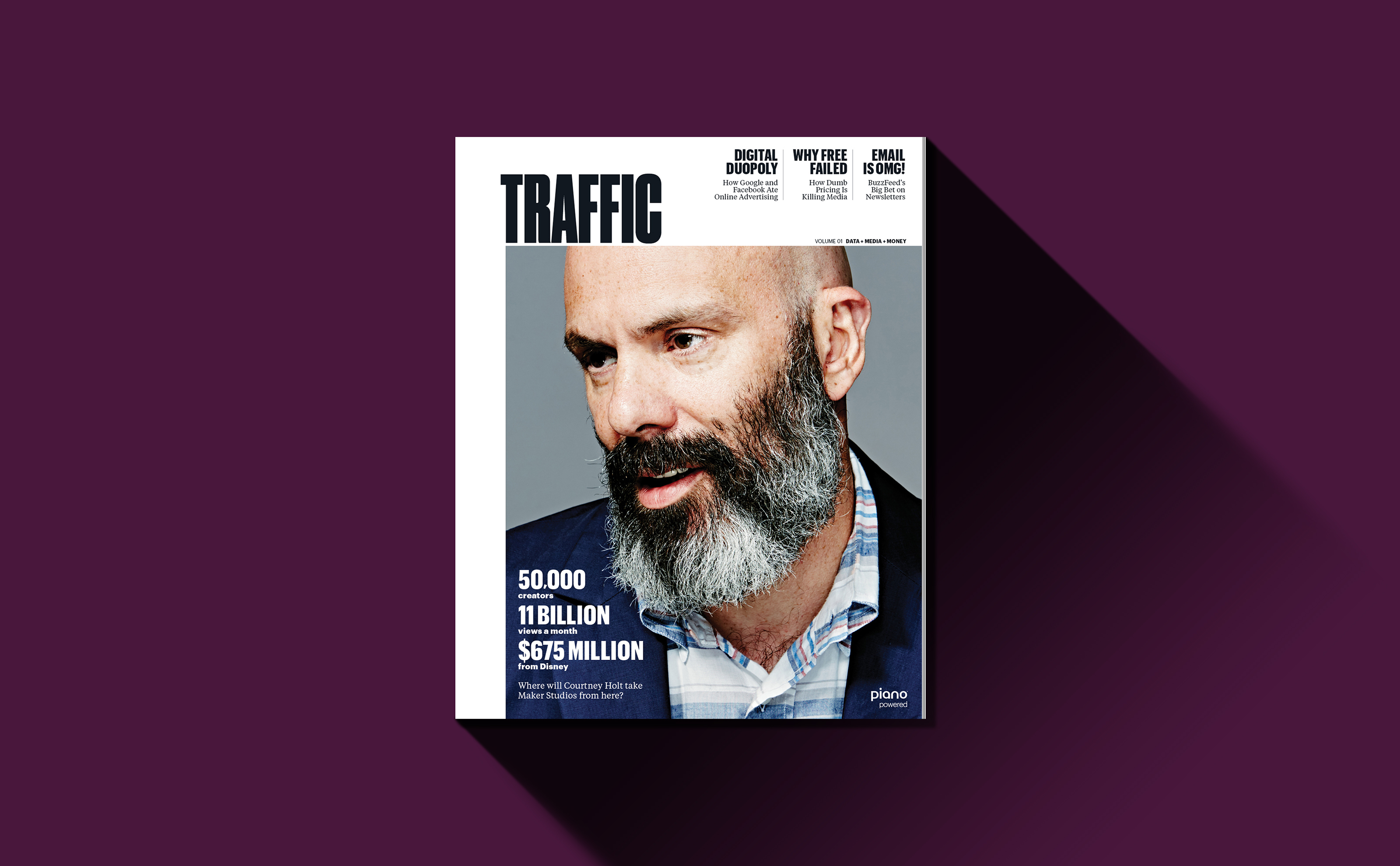 Traffic magazine cover