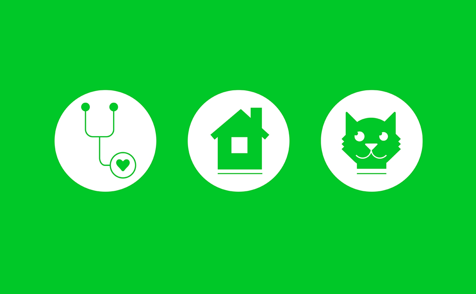 Cat Vet At Home icons