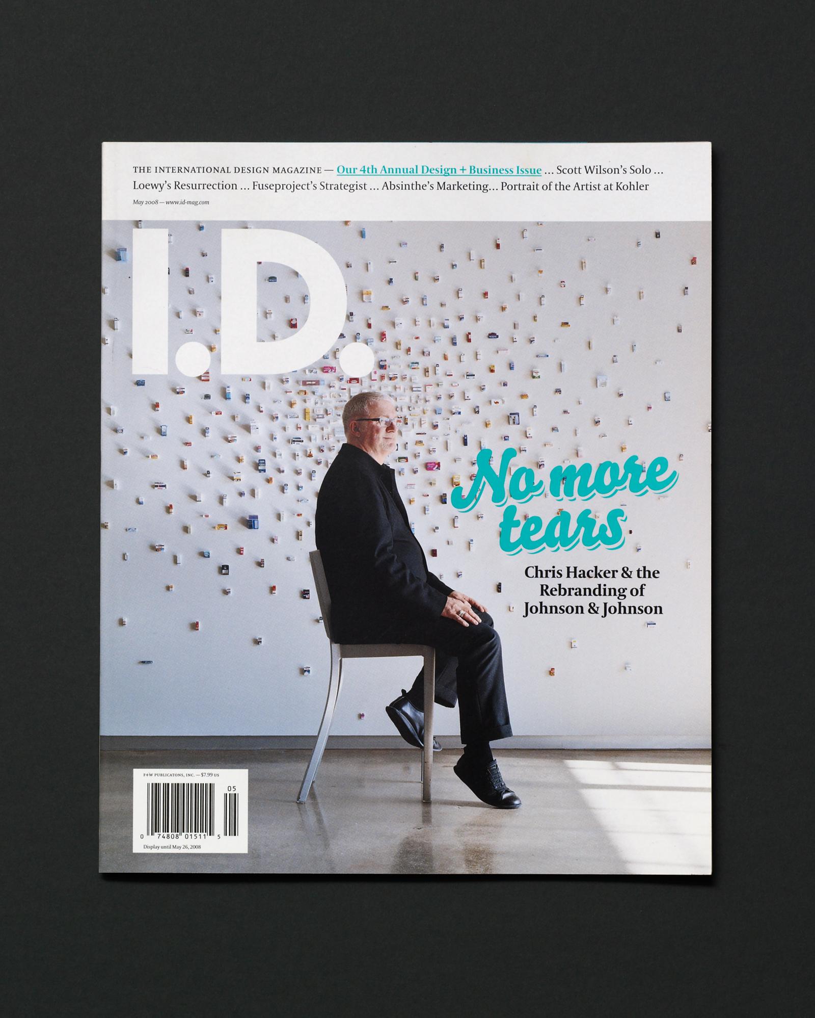 I.D. magazine design cover