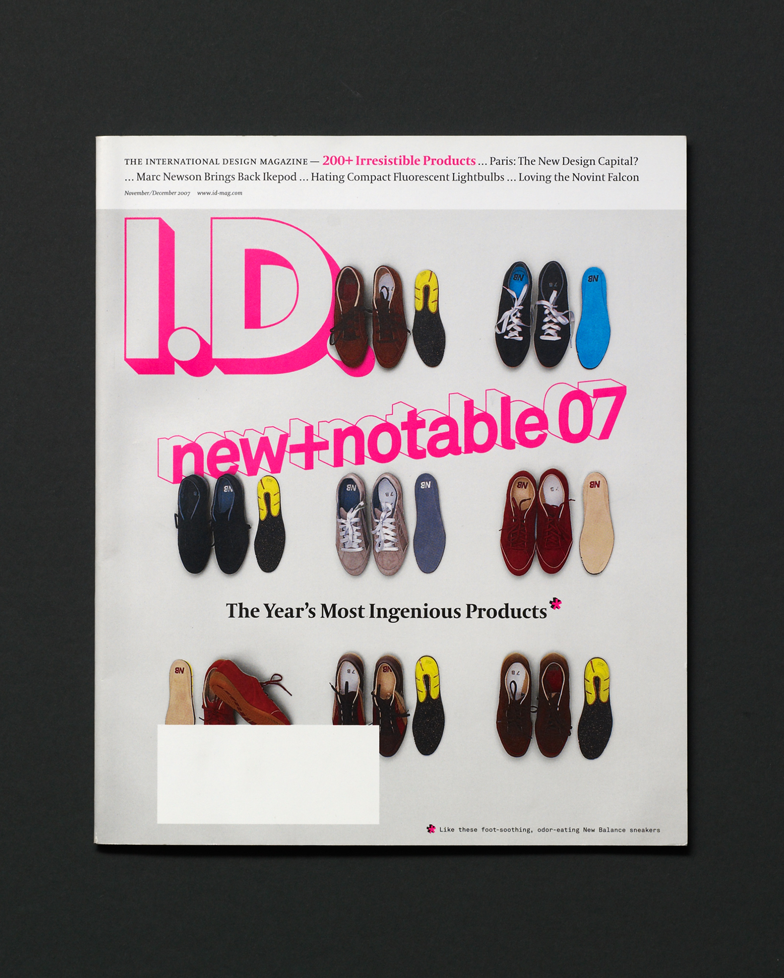 I.D. magazine new and notable shoes
