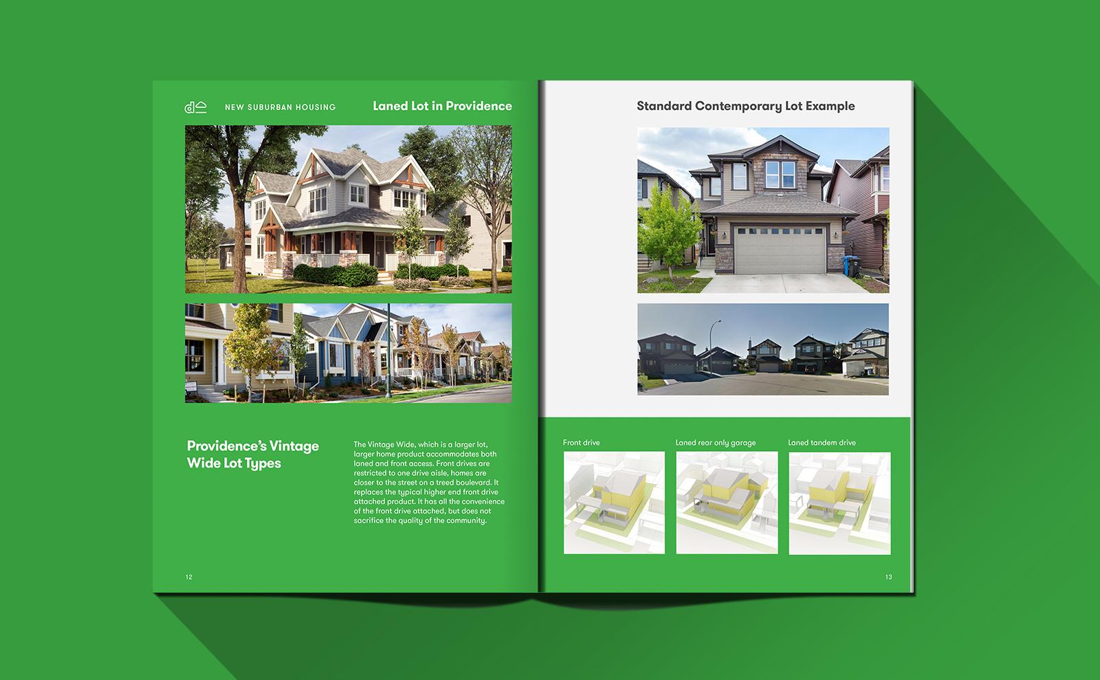 Dream Developments Providence booklet design interior