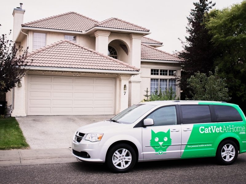 Personalized veterinary care, brought to your home.