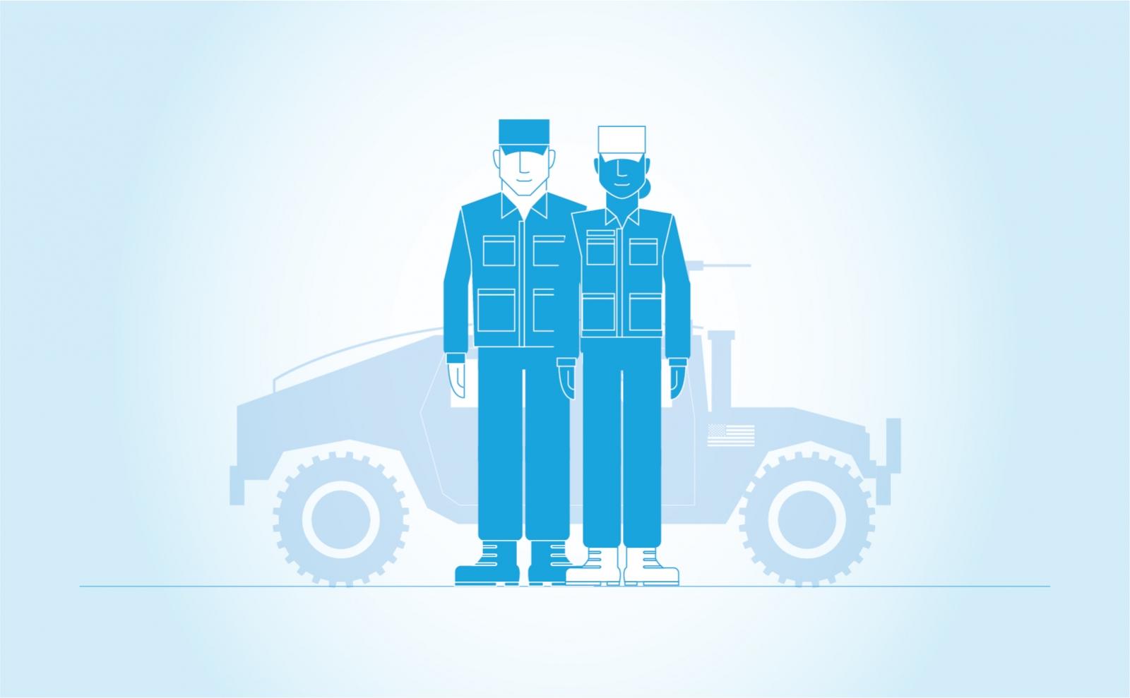 Helping veterans get good jobs  — The TOM Agency