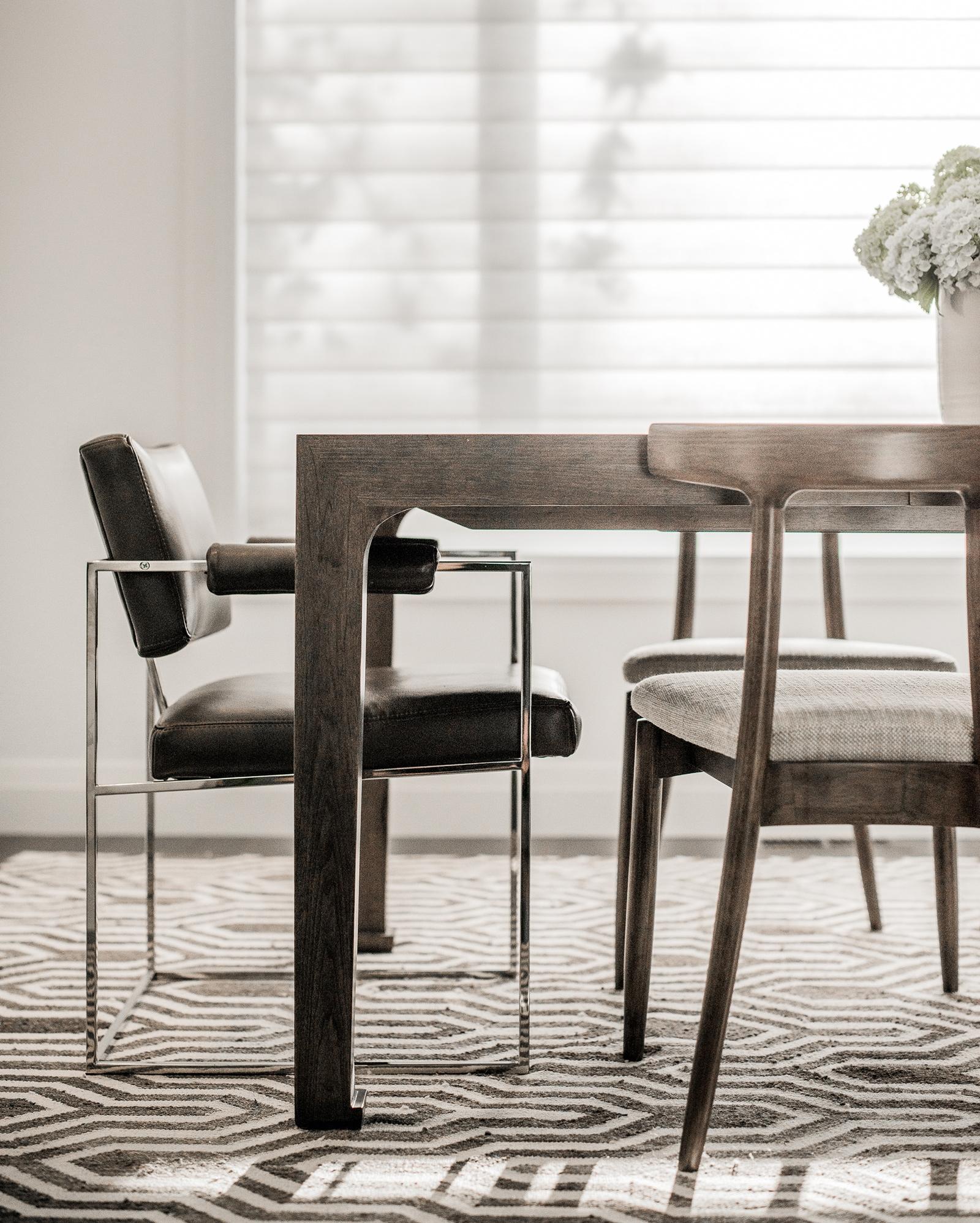 Morgan Kelly interiors table and chair