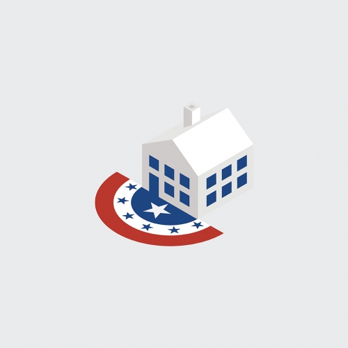 3-D political icons for the New York Times.