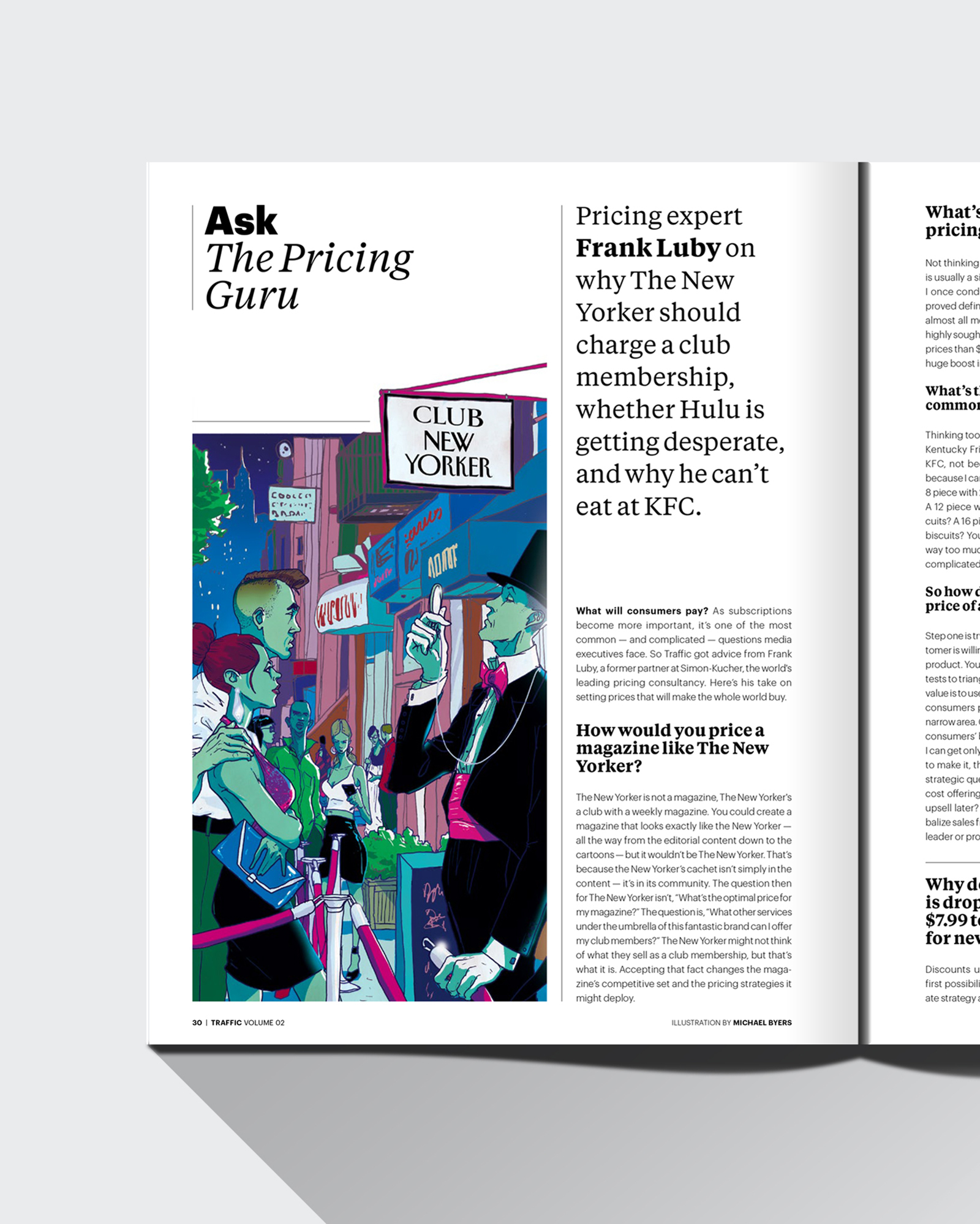 Traffic magazine ask the pricing guru