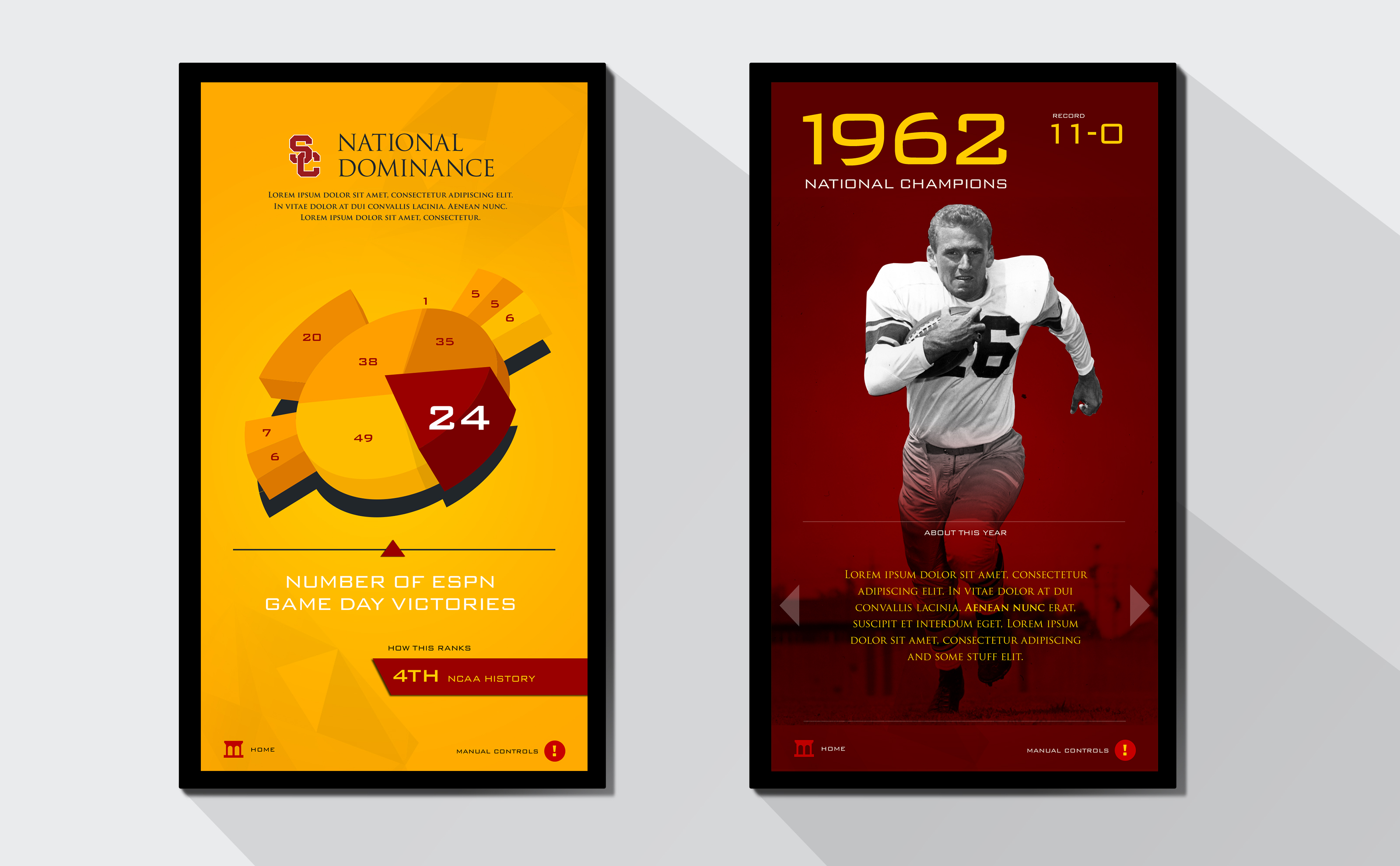 USC Interactive Screens