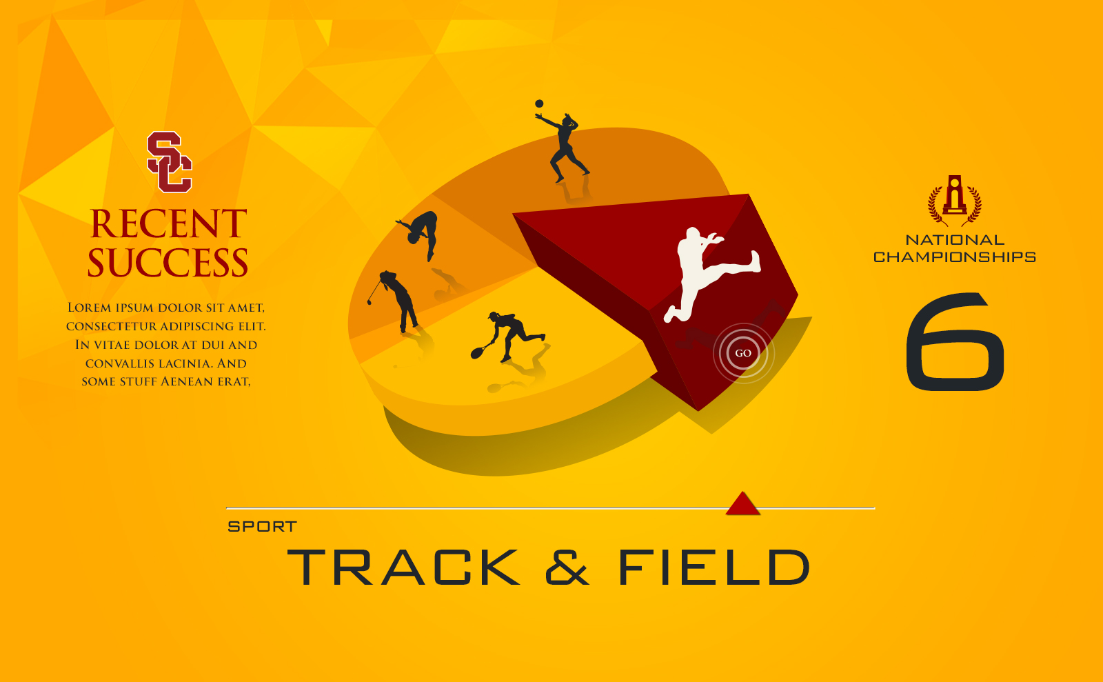 USC Interactive Screens track and field