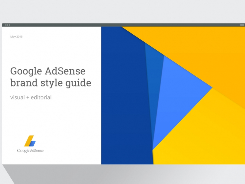 A brand style guide for Google.