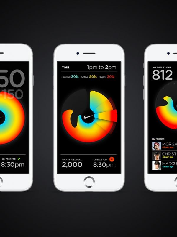 Visualizing NikeFuel.