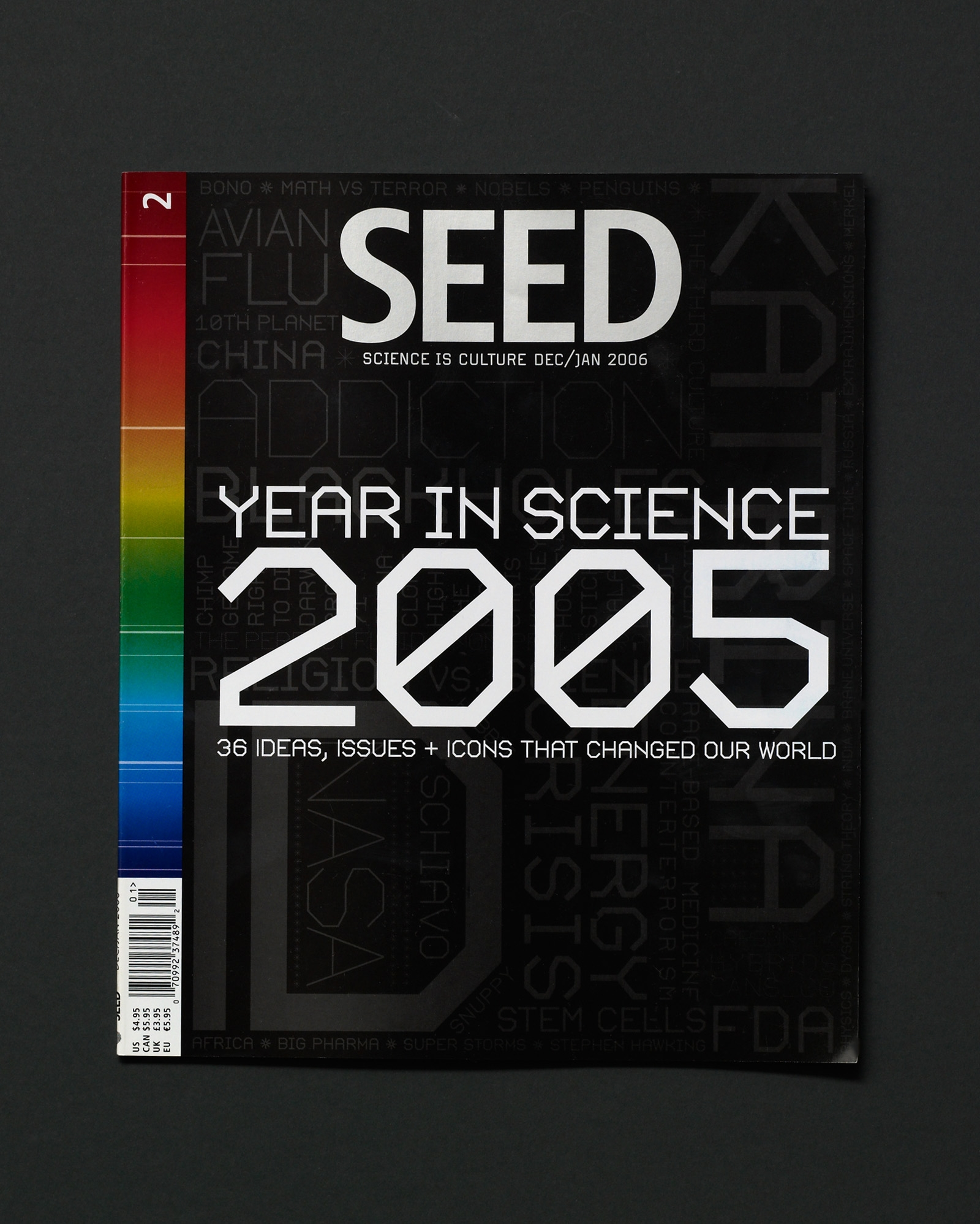 SEED magazine year in science 2005