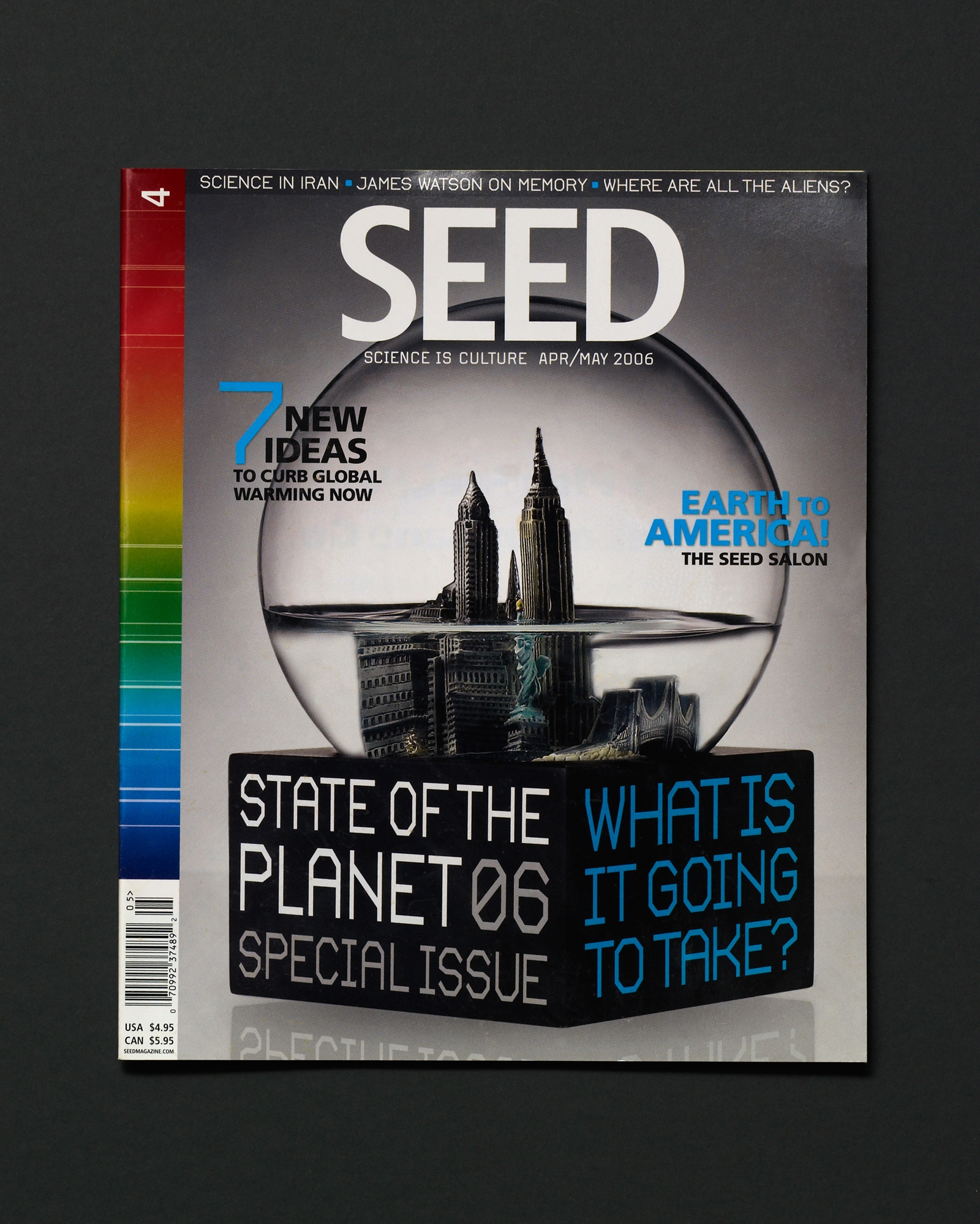 SEED magazine state of the planet special issue