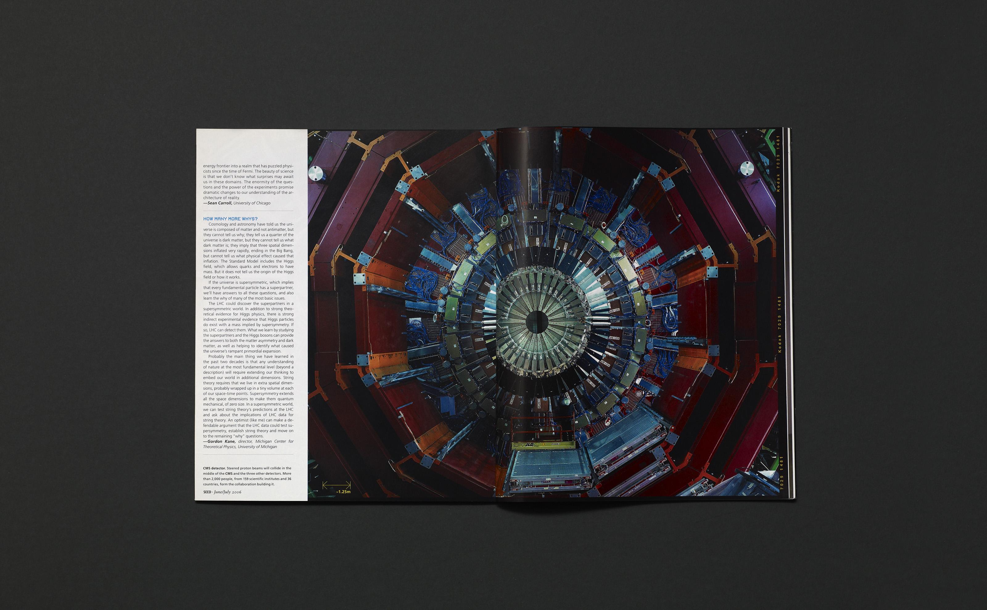 SEED magazine CERN supercollider issue