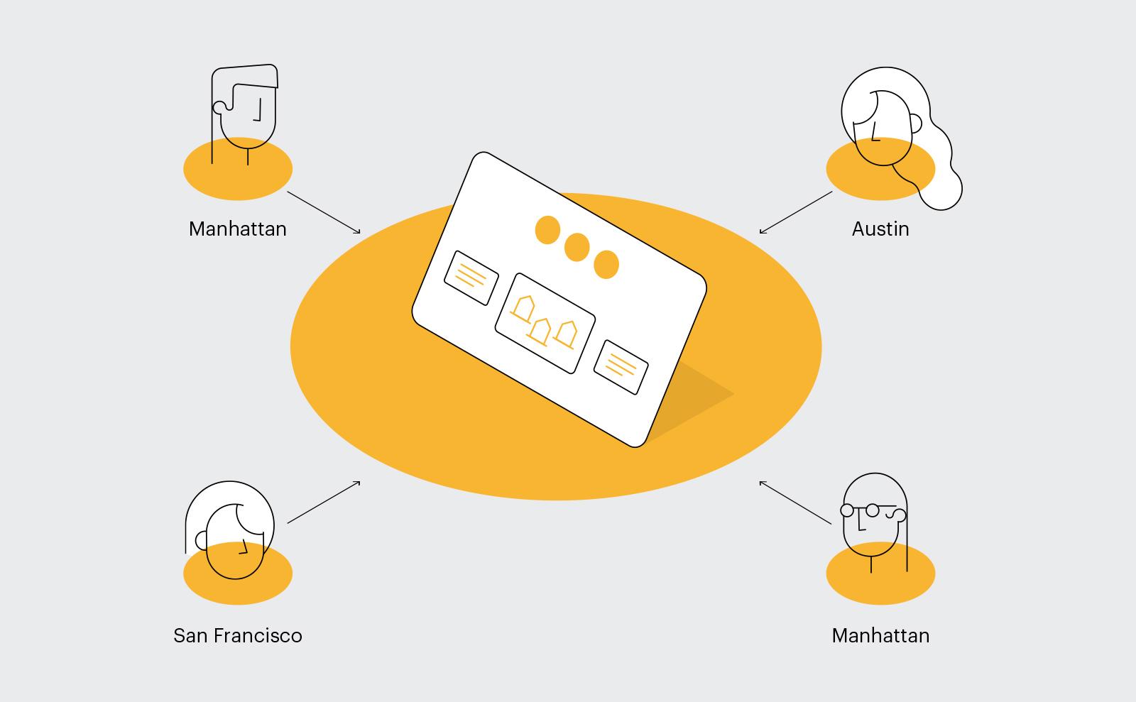 Cisco Future Office detail illustration