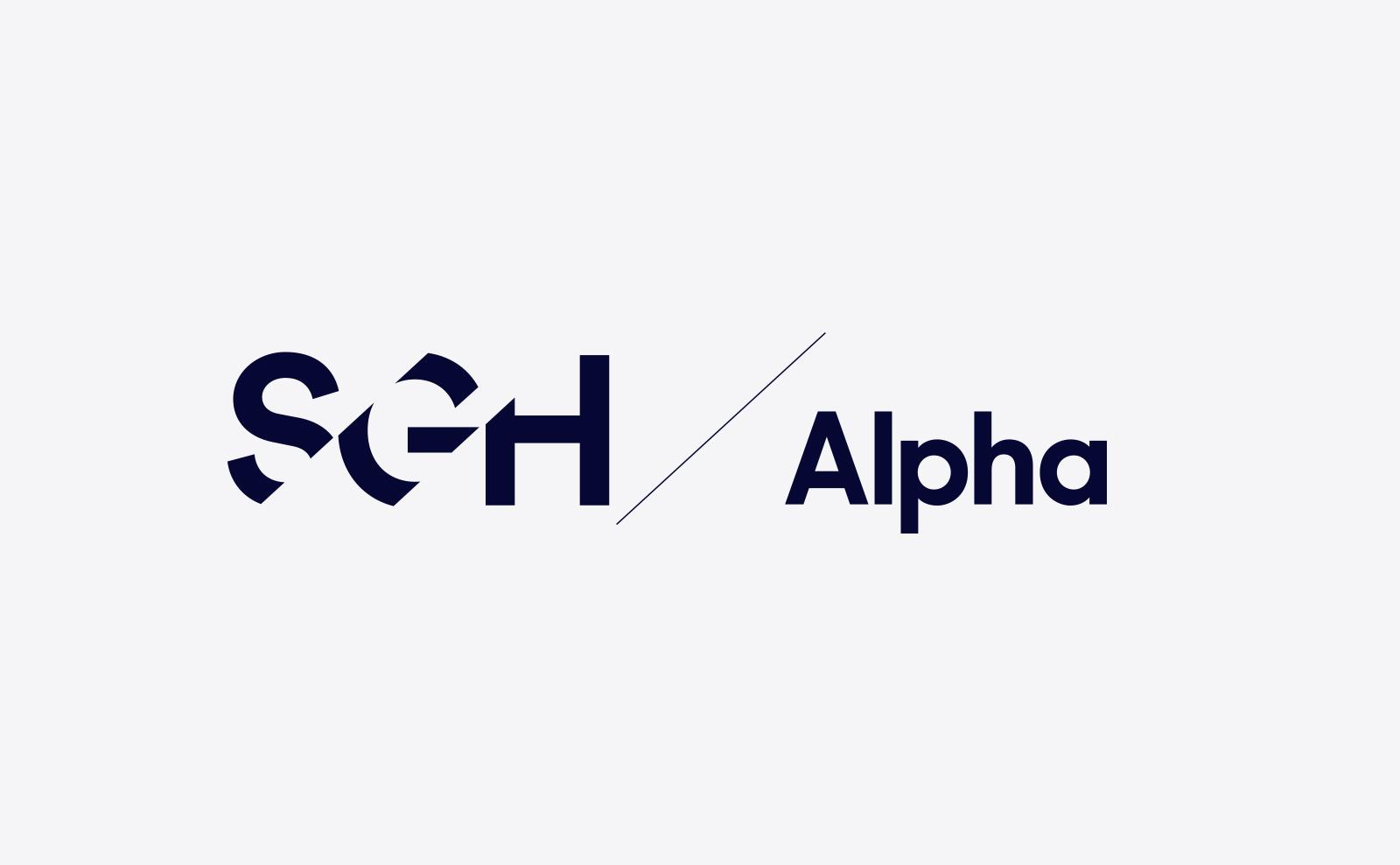 SGH Capital logo design