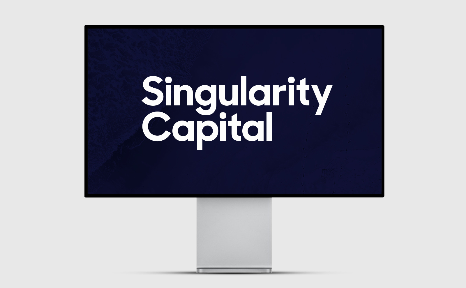SGH Capital logo on an Apple Display XDR